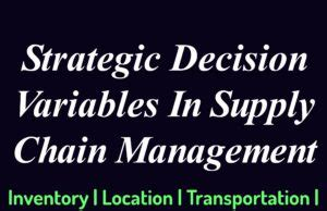 Supply Chain Management Dissertation Topics Dissertation